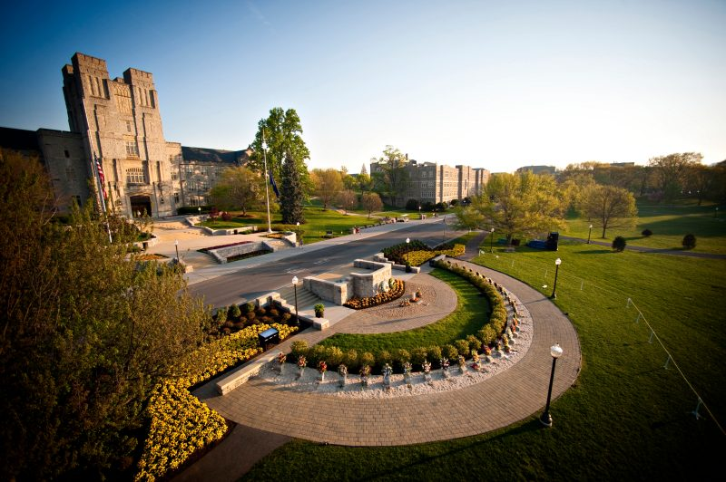 April 16 Memorial and Burruss Hall