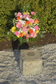 Austin Michelle Cloyd stone at April 16 Memorial