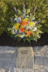 Jocelyne Couture-Nowak stone at April 16 Memorial