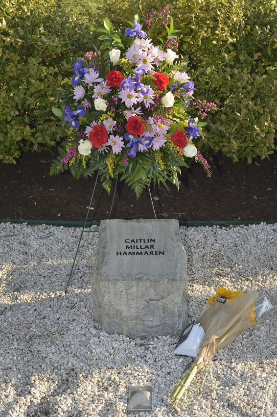 Caitlin Millar Hammaren stone at April 16 Memorial