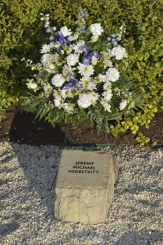 Jeremy Michael Herbstritt stone at April 16 Memorial