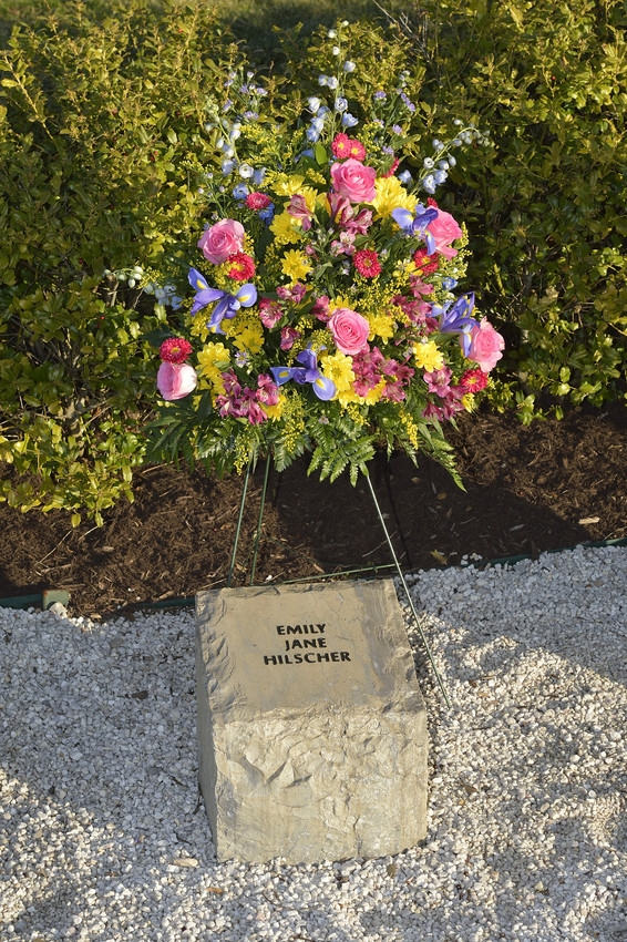 Emily Jane Hilscher stone at April 16 Memorial
