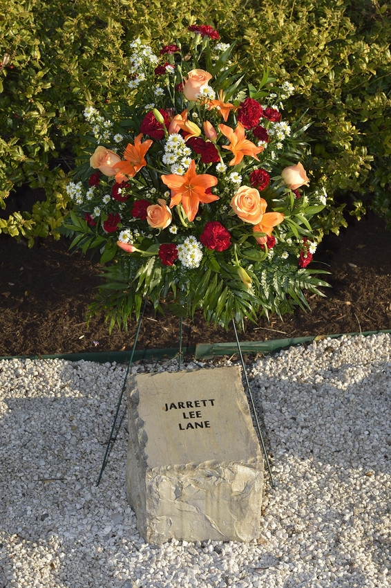 Jarrett Lee Lane stone at April 16 Memorial