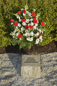 Partahi Mamora Halomoan Lumbantoruan stone at April 16 Memorial
