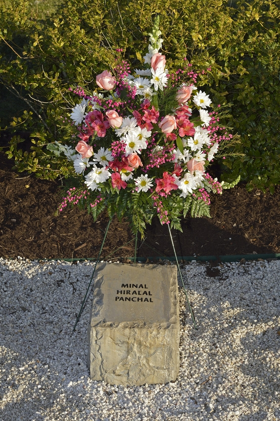 Minal Hiralal Panchal stone at April 16 Memorial