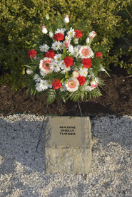 Maxine Shelly Turner stone at April 16 Memorial